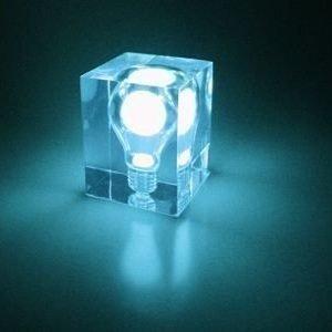 Glow Brick sininen