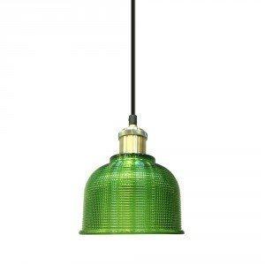 Green Glass LED Pendant