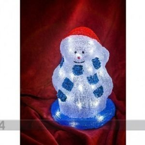 HÜ Akryylikoriste Lumiukko Led Valoilla