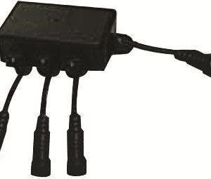 Haaroitusrasia MB LED-maavalaisimille 3-jakoinen