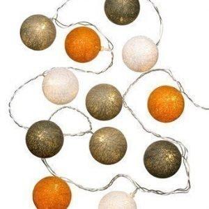 Halens Valoköynnös Cotton ball Oranssi Beige