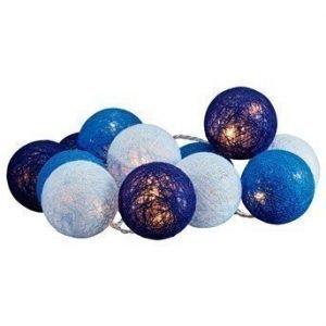 Halens Valoköynnös Cotton ball Sininen Valkoinen