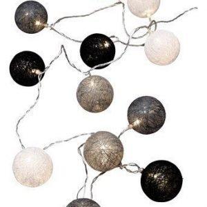 Halens Valoköynnös Cotton ball Valkoinen Musta Harmaa