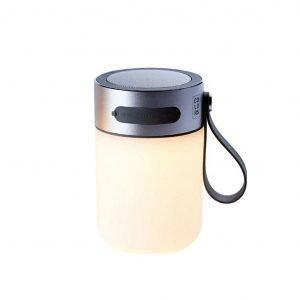 Halo Design Led Sound Jar Pöytävalaisin Silver
