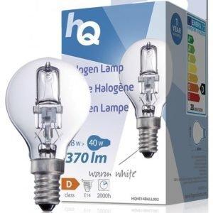 Halogeenilamppu pallo E14 28 W 370 lm 2800K