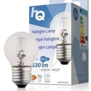 Halogeenilamppu pallo E27 42 W 630 lm 2800K
