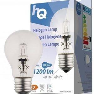 Halogeenilamppu pallo E27 70 W 1 200 lm 2800K