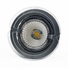 Hella LED-kohdevalaisin Universal Design Spot S100 8W 40° 2900K tummanharmaa/oranssi ulko