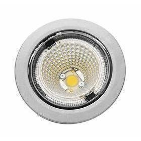Hella LED-kohdevalaisin Universal Design Spot S100 8W 40° 2900K vaaleanharmaa/sininen sisä