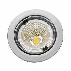 Hella LED-kohdevalaisin Universal Design Spot S100 8W 40° 2900K vaaleanharmaa/valkoinen sisä