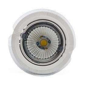Hella LED-kohdevalaisin Universal Design Spot S100 8W 40° 2900K valkoinen/oranssi ulko
