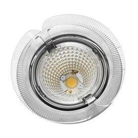 Hella LED-kohdevalaisin Universal Design Spot S100 8W 60° 2900K vaaleanharmaa/oranssi ulko