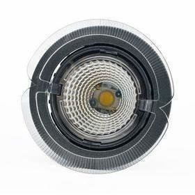 Hella LED-kohdevalaisin Universal Design Spot S102 15W 60° 4000K tummanharmaa/oranssi ulko