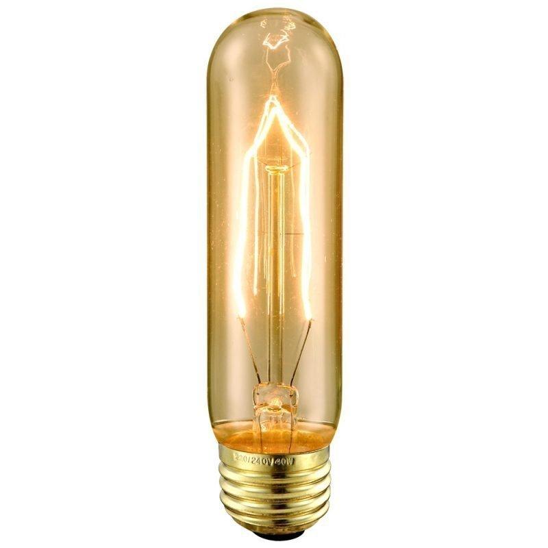 Hiililankalamppu Deco Amber 90040 40W E27 Ø 32x127 mm 2700K 120lm