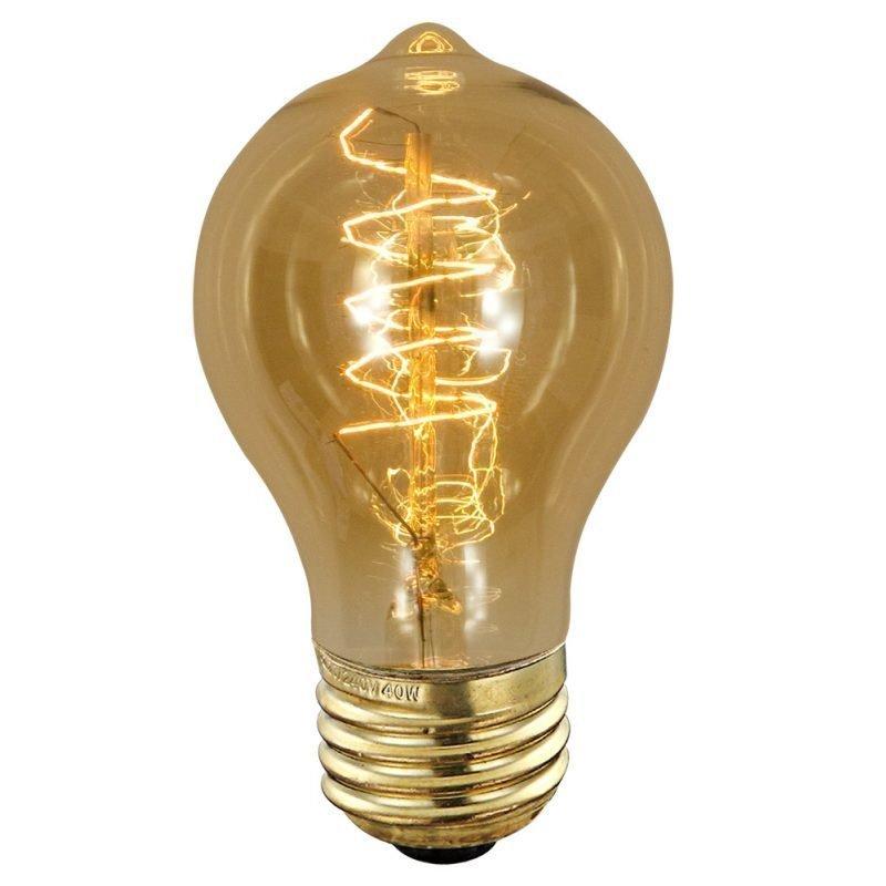 Hiililankalamppu Deco Amber Edison 90240 40W E27 Ø 60x110 mm 2700K 120lm