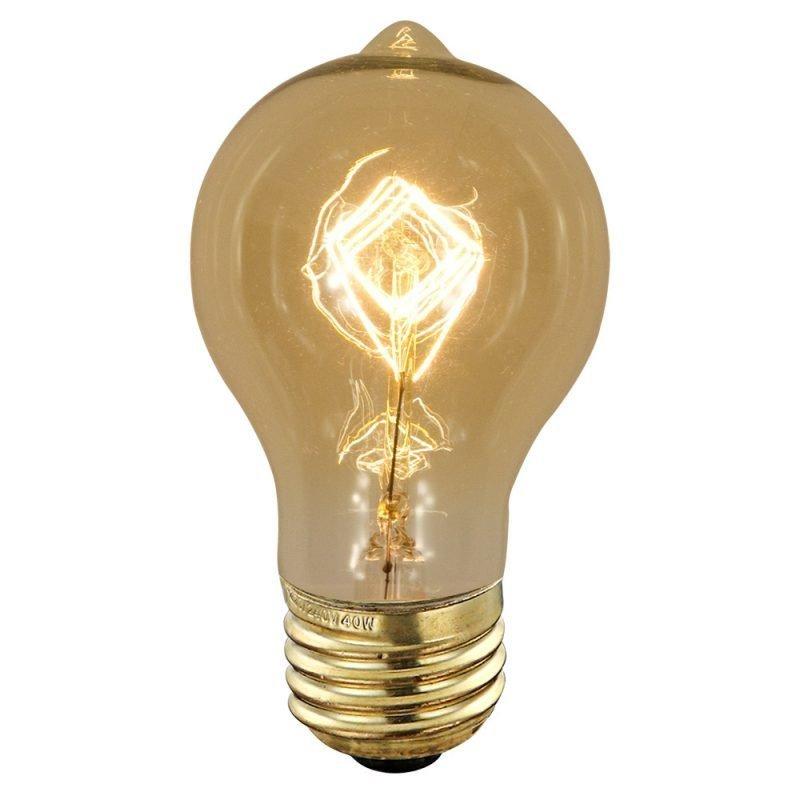 Hiililankalamppu Deco Amber Edison 90340 40W E27 Ø 60x110 mm 2700K 120lm