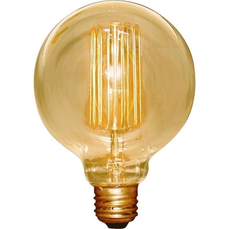 Hiililankalamppu Deco Globe 40W G95 E27 amber