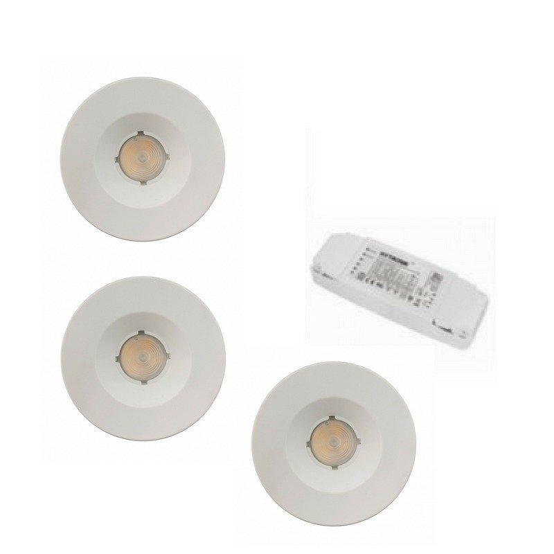 Himmennettävä kohdevalopaketti LEDSPOT 4