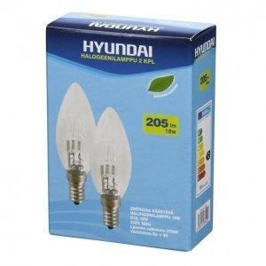 Hyundai Halogeenilamppu 18w E14 2kpl Kynttilä