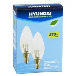 Hyundai Halogeenilamppu 28w E14 2kpl Kynttilä