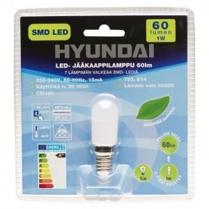 Hyundai Led Jääkaappilamppu 1w E14 60lm