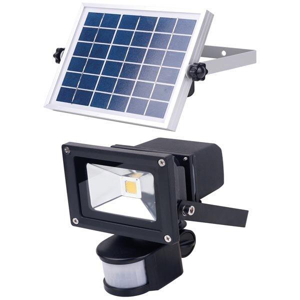 IP44-luokiteltu paristokäyttöinen LED-valaisin 500lm 6000K musta