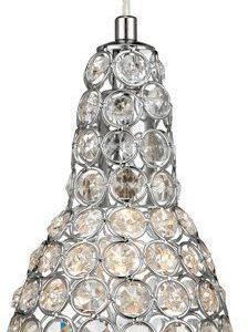 Ikkunavalaisin Fia Ø 120x190 mm kromi/Brilliant-kristalli