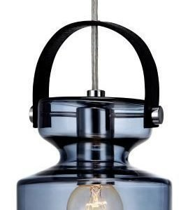 Ikkunavalaisin Milk Ø 120x270 mm sininen lasi