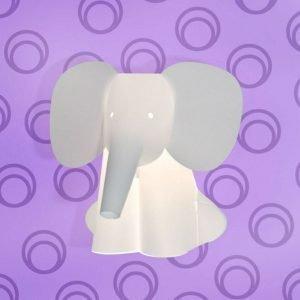Intermezzo Zoolight Elefantti Seinävalaisin