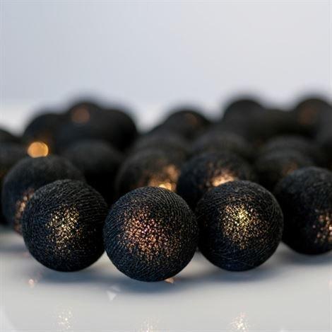 Irislights All Black 20 Palloa