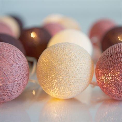 Irislights Dusty Pink 20 Palloa