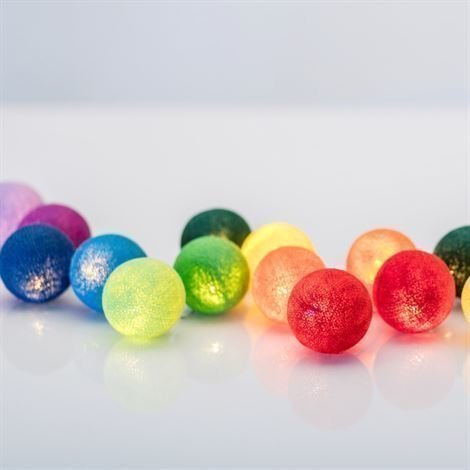 Irislights Rainbow 20 Palloa