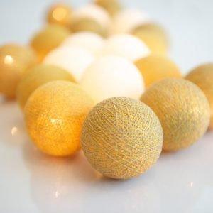 Irislights Valoketju 10 Lamppua Gold