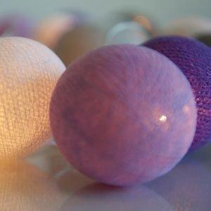 Irislights Valoketju 10 Lamppua Lavender