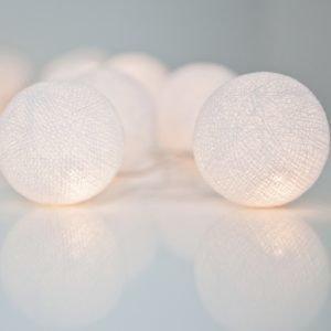 Irislights Valoketju 10 Lamppua Pure White