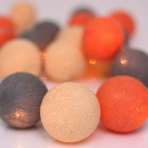 Irislights Valoketju 20 Lamppua Peach Marble