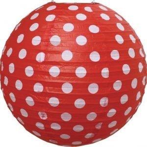 Jabadabado Riisipaperivarjostin Punainen 40 cm
