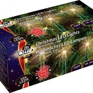 Joulukuusenkynttilät 20 kpl LED 3 m