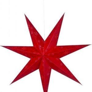 Joulutähti Aratorp 100 cm paperi punainen