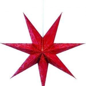 Joulutähti Aratorp 75 cm paperi punainen