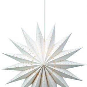 Joulutähti Norrdal 75 cm paperi valkoinen