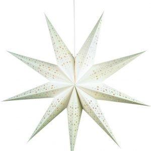 Joulutähti Solvalla 100 cm paperi valkoinen
