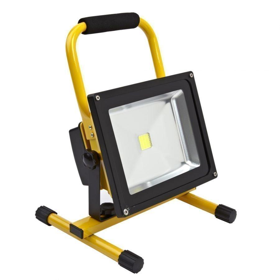 Kannettava Ladattava LED Valonheitin 30W