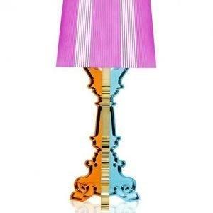Kartell Bourgie Pöytävalaisin Multicolored Fucsia