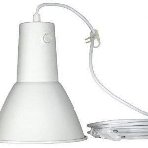 Kasvivalaisin Artco Led Ø 174x220 mm valkoinen + LED-lamppu