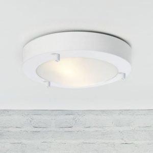 Katto/seinävalaisin Ancona LED IP43/44 Ø 180x50 mm valkoinen