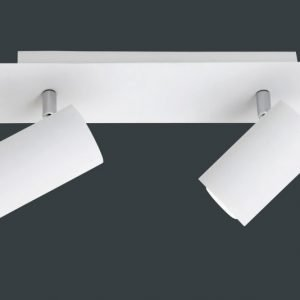 Kattospotti Amanda 300x90x150 mm 2-osainen valkoinen