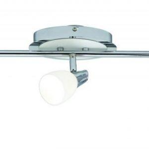 Kattospotti Halden 550x170 mm 3-osainen kromi/valkoinen
