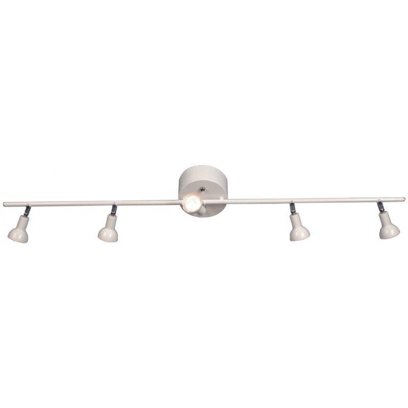 Kattospotti Scan Lamps Toby 135x1100x190 mm 5-osainen suora valkoinen