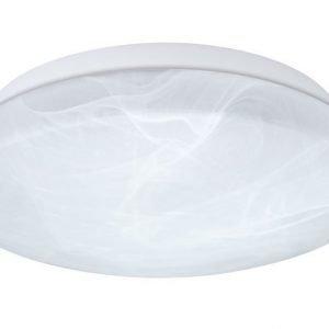 Kattovalaisin Berengo Ø 300x105 mm valkoinen/alabasterilasi IP44